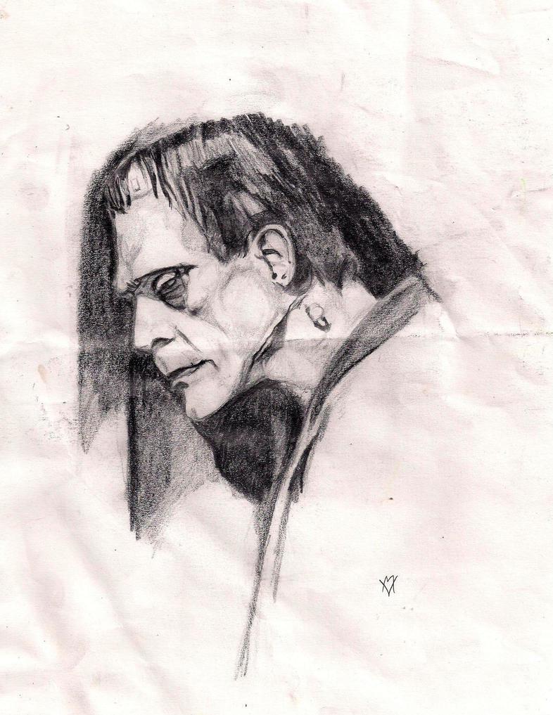 Karloff as the Monster by Gossamer1970