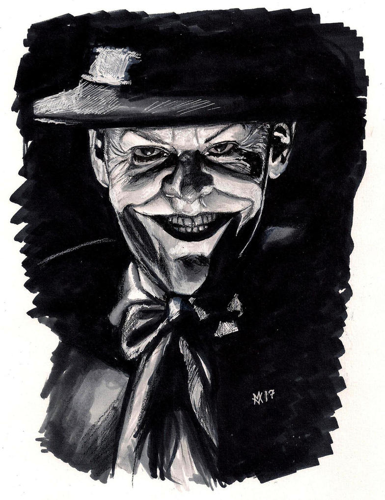Jack Nicholson as the Joker by Gossamer1970