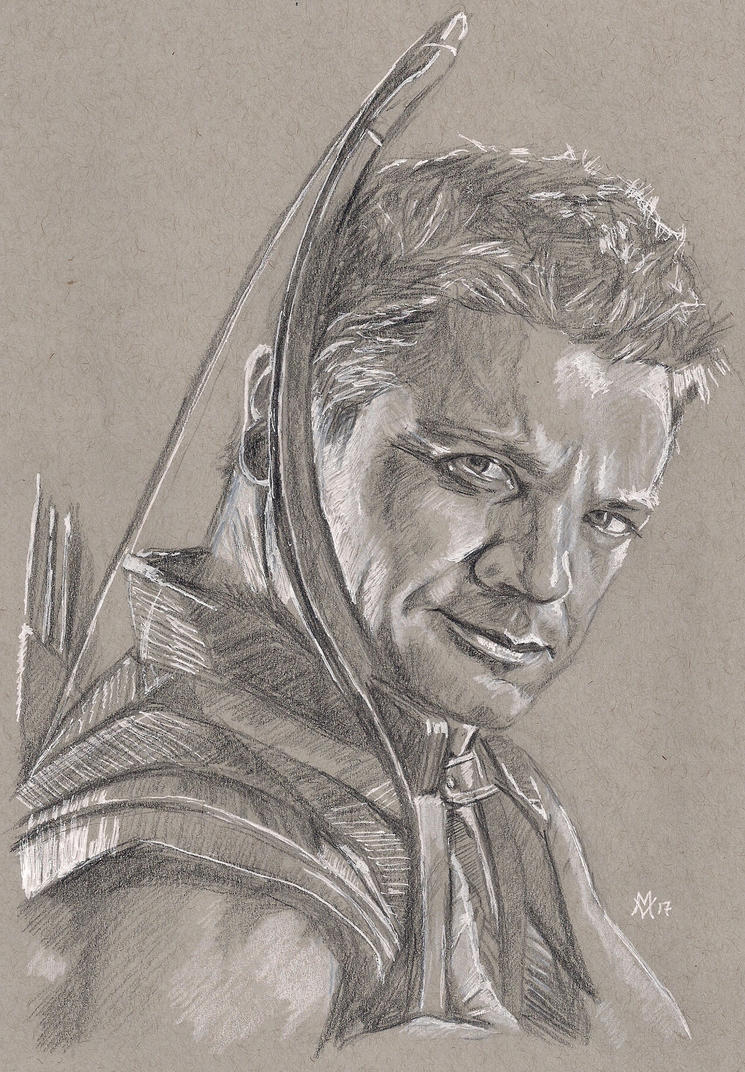 Jeremy Renner as Hawkeye by Gossamer1970