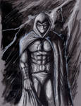 Daily Sketch Challenge Moon Knight by Gossamer1970