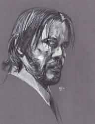 Weekend Sketch Challenge John Wick by Gossamer1970