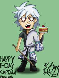 Happy Birthday captain by Metanorn