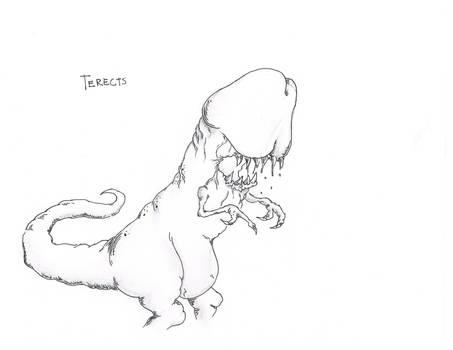 Terects the fleshhunter