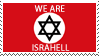 Israel Stamp by phantom