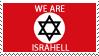 Israel Stamp by phantom