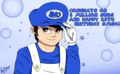Happy 20th birthday, SMG4! by ReedAhmad