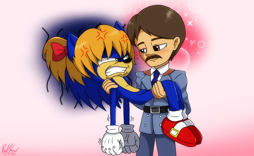 Sonic and Swagmaster by ReedAhmad on DeviantArt