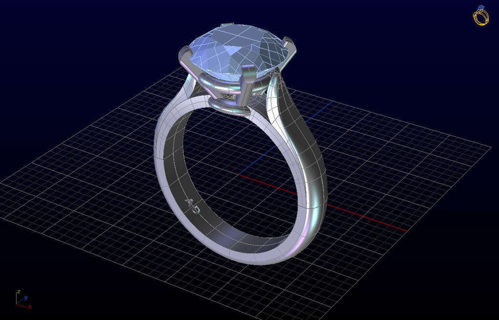 Design Antique Jewelry by Siemens CAD software by cjtech000 on