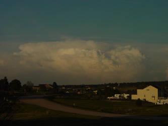 Spring Thunderstorm by DarkTheImmortal
