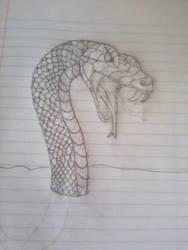 Lava Snake (WIP) by DarkTheImmortal