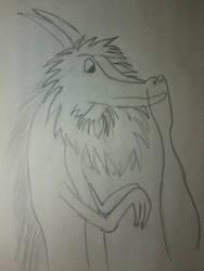 Maned dragon by DarkTheImmortal