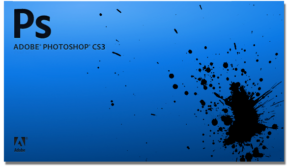 Photoshop CS3 splash screen