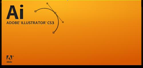 Illustrator CS3 splash screen