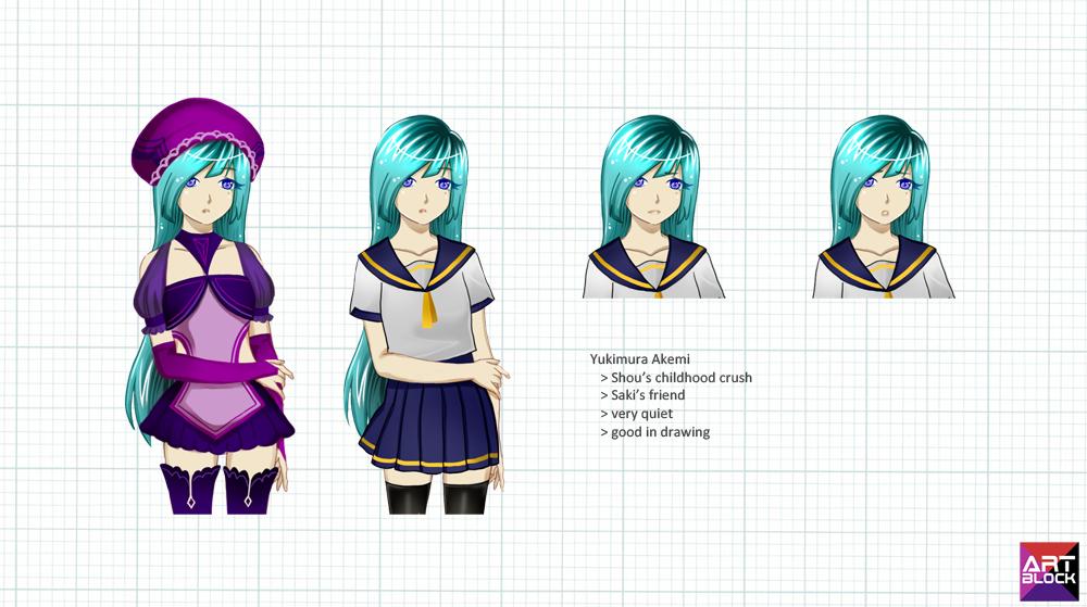 Art Block: Akemi-chan by xXxPorNo-GraFFItixXx