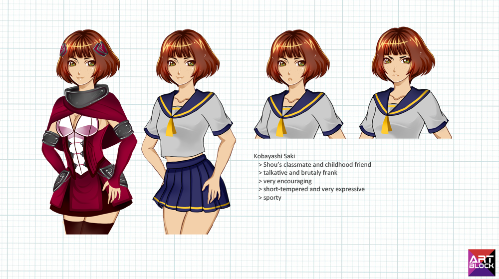 Art Block: Saki-chan by xXxPorNo-GraFFItixXx