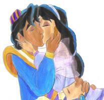 Aladdin And Jasmine 4 Ever by MegBeth