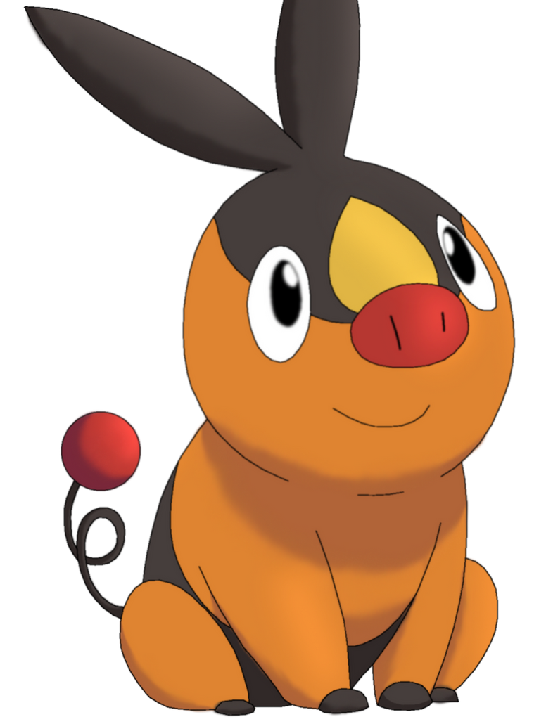 50 Pokemon #11-Tepig by MegBeth on DeviantArt