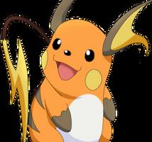 50 Pokemon #12-Raichu by MegBeth