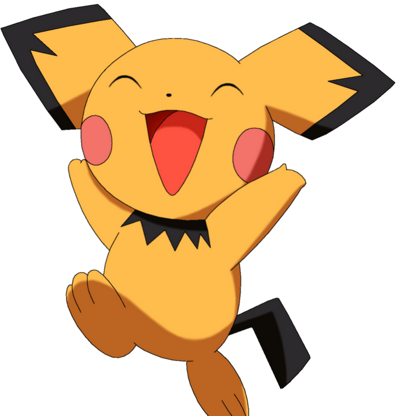 50 Pokemon #14-Pichu by MegBeth