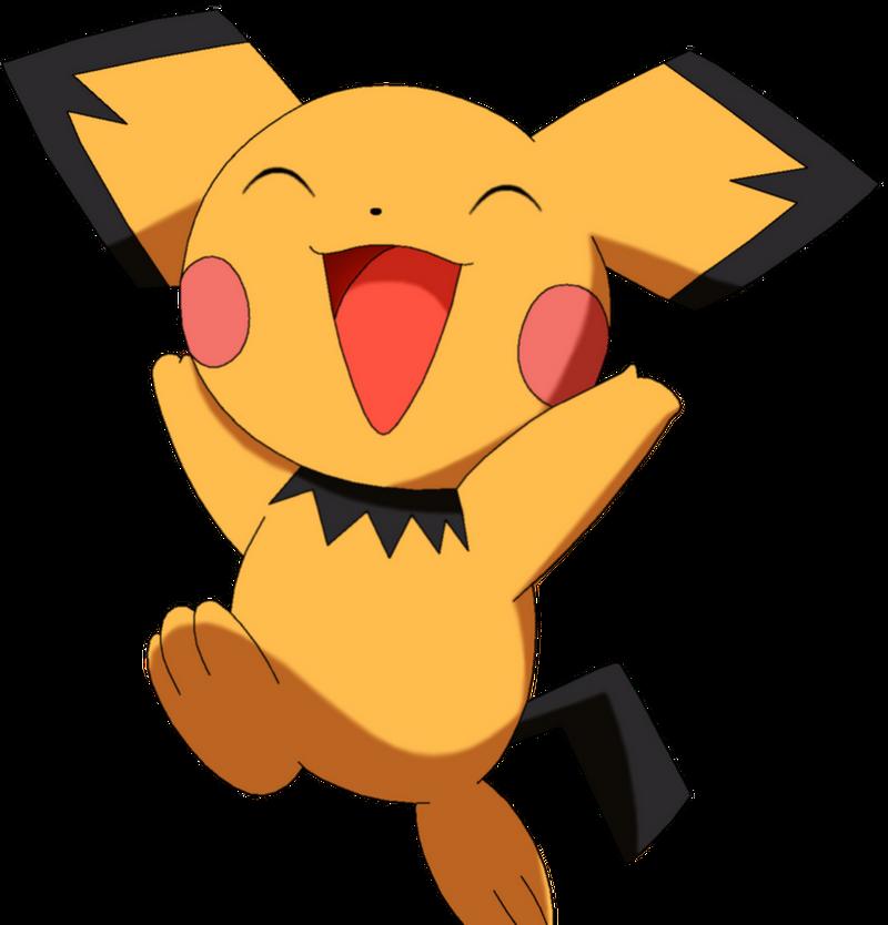 50 Pokemon #14-Pichu by MegBeth