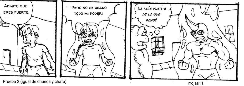 Prueba 2 tira comica by rrojas11