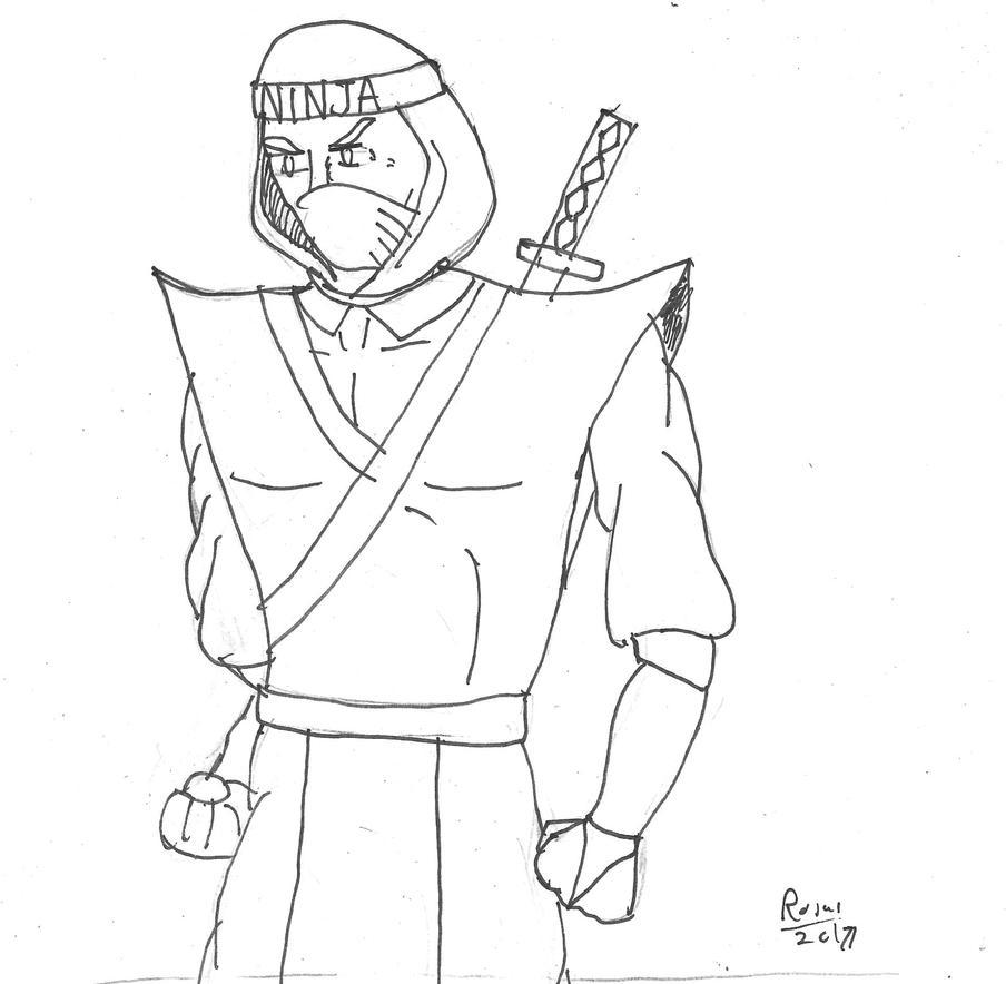 Ninja Master Gorka by rrojas11