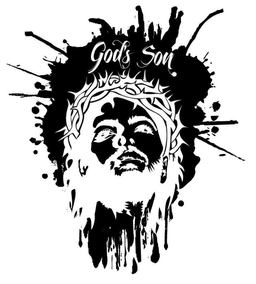 God 39 s son tattoo design by crazy4coral on deviantart for God s son tattoo