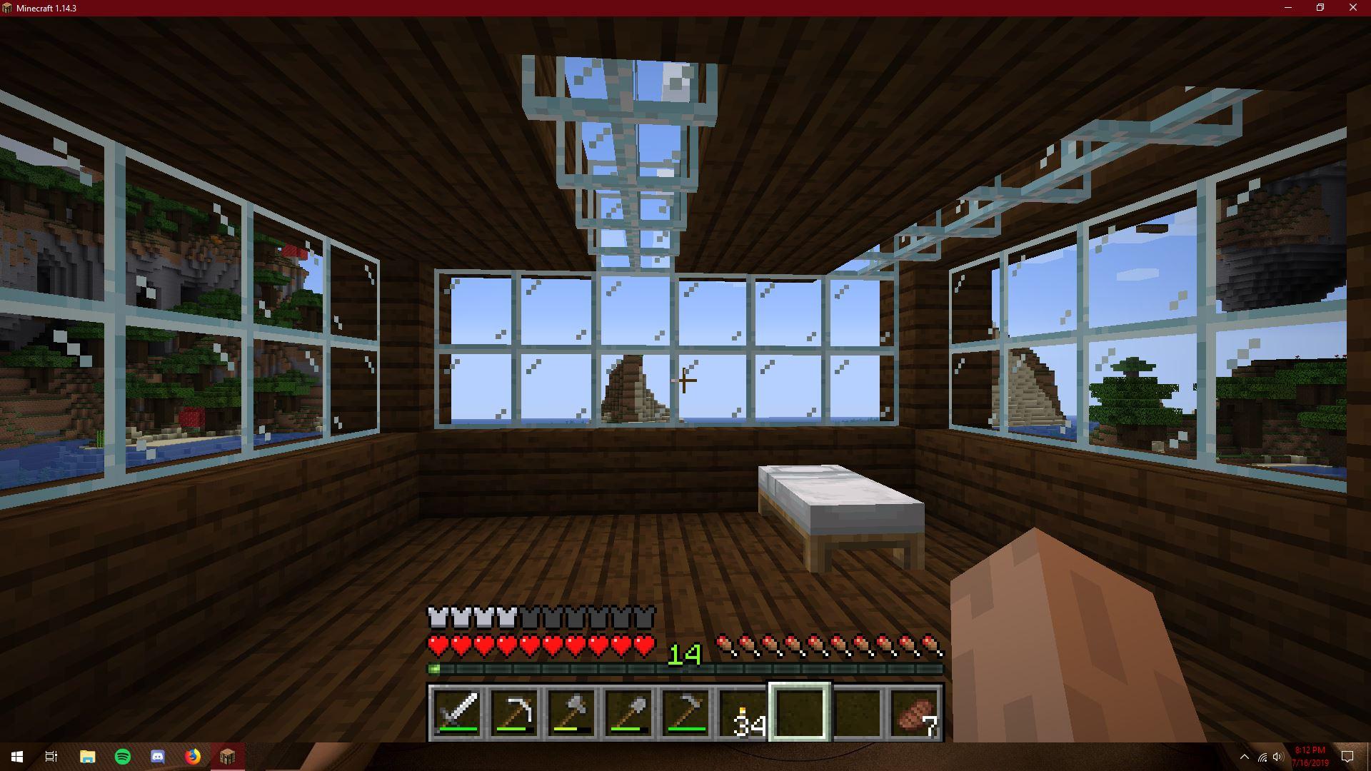 Progress On My Minecraft House 1 By Redtail126548 On