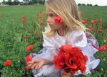Poppy girl 2 - stock