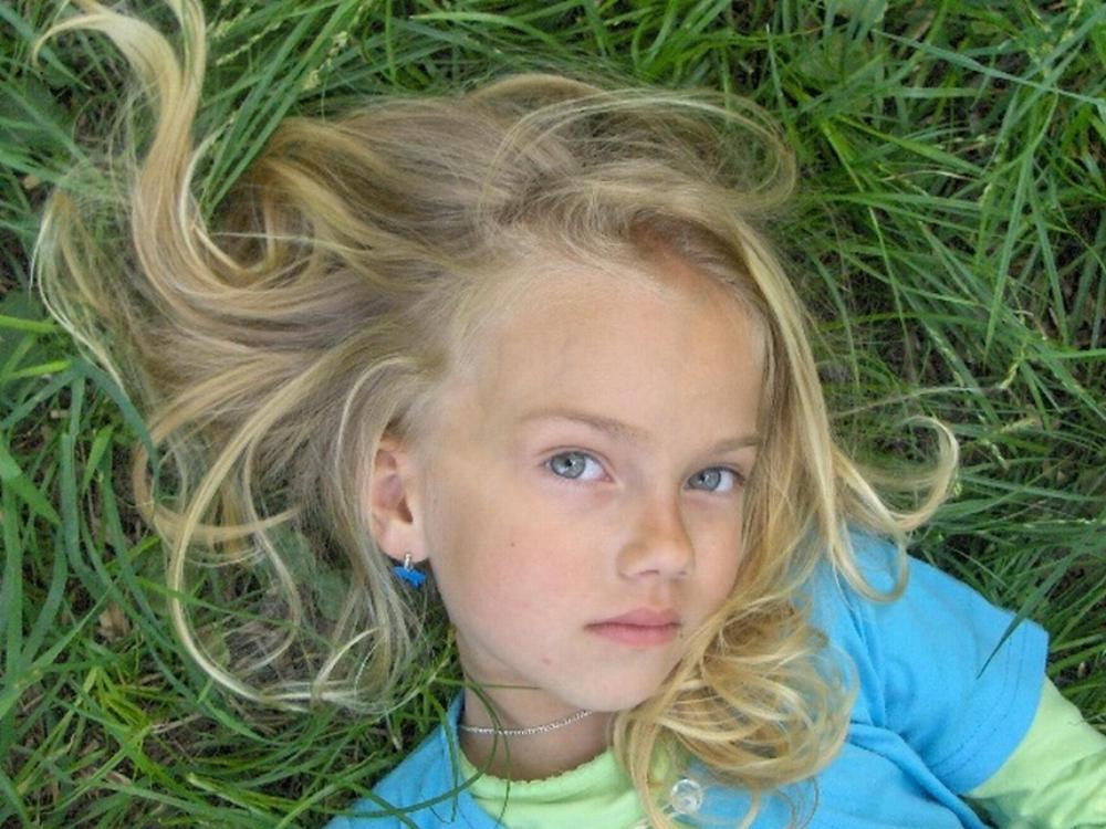 Beautiful By Little Girl Stock On Deviantart