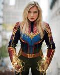 Captain Marvel Cosplay @ New York Comic Con 2019 (