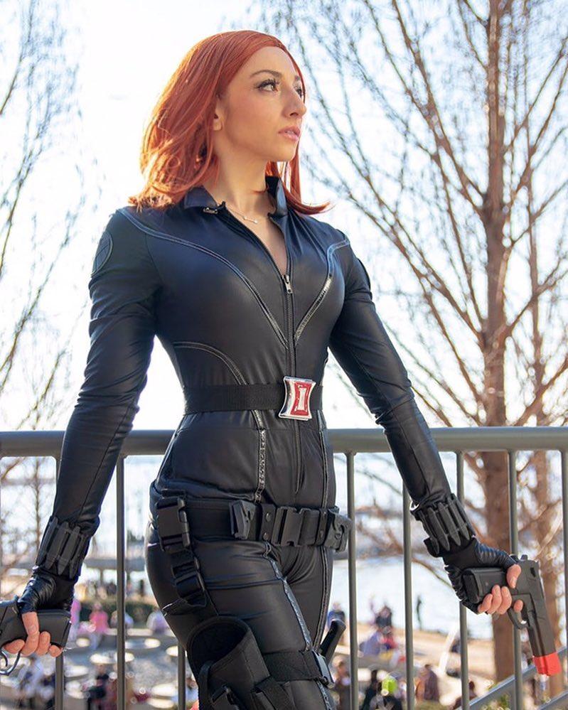 Black Widow Avengers Cosplay San Diego Comic Con By Brokephi316 On Deviantart