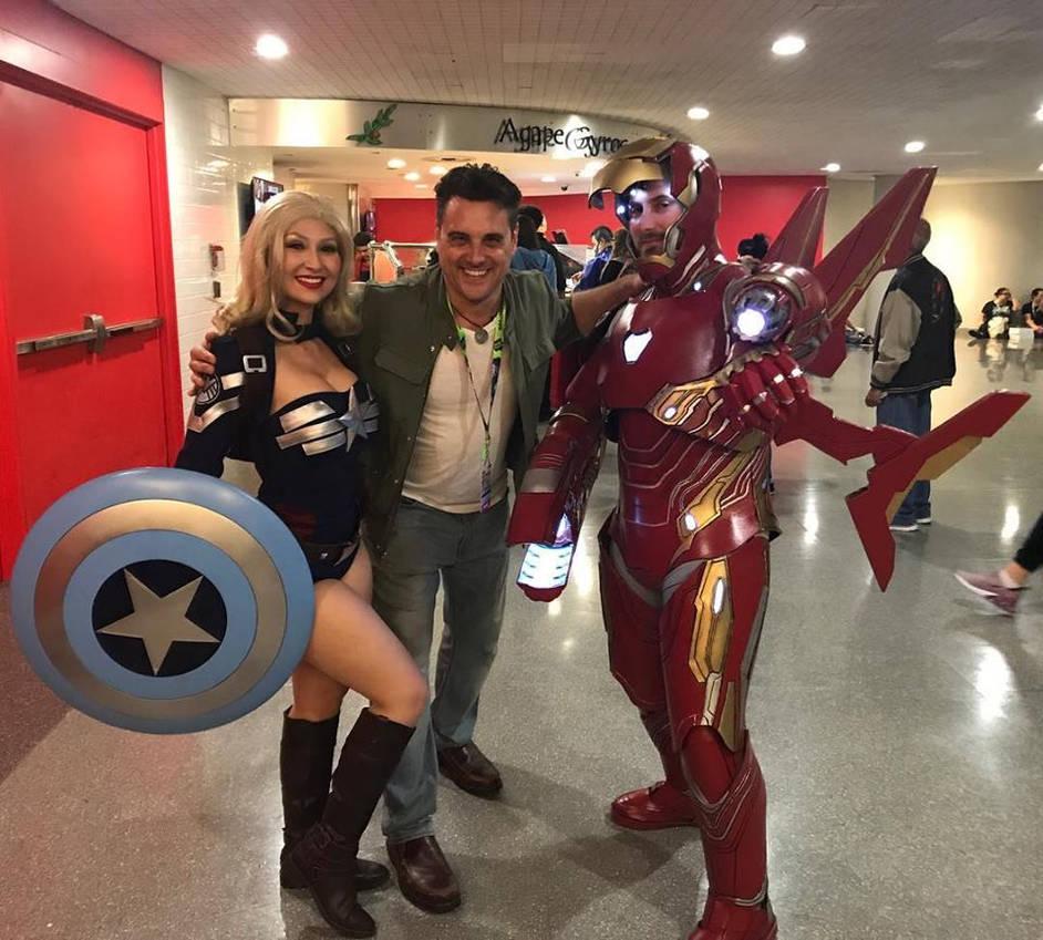 Iron Man Mark 50 Cosplay New York Comic Con 2018 By Brokephi316 On