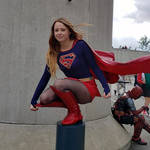 Supergirl CW Cosplay @ Wondercon Anaheim 2019