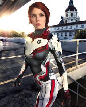 Black Widow Endgame Cosplay Free Comic Book Day (7