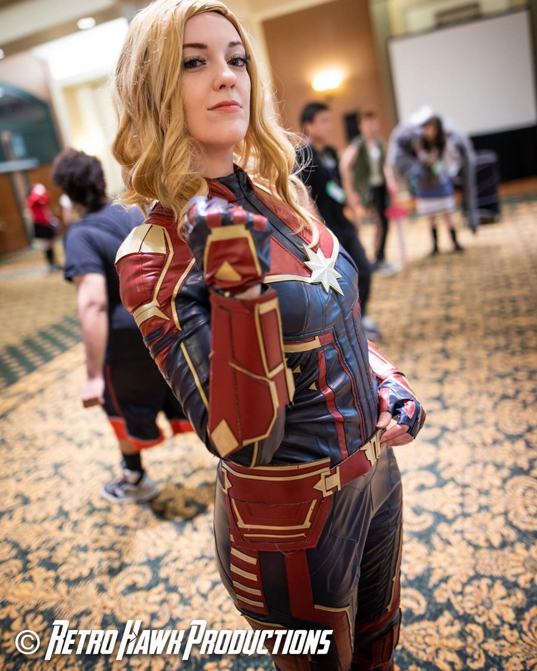 Free Comic Book Day Etiquette: Captain Marvel Cosplay Free Comic Book Day 2019 (1 By