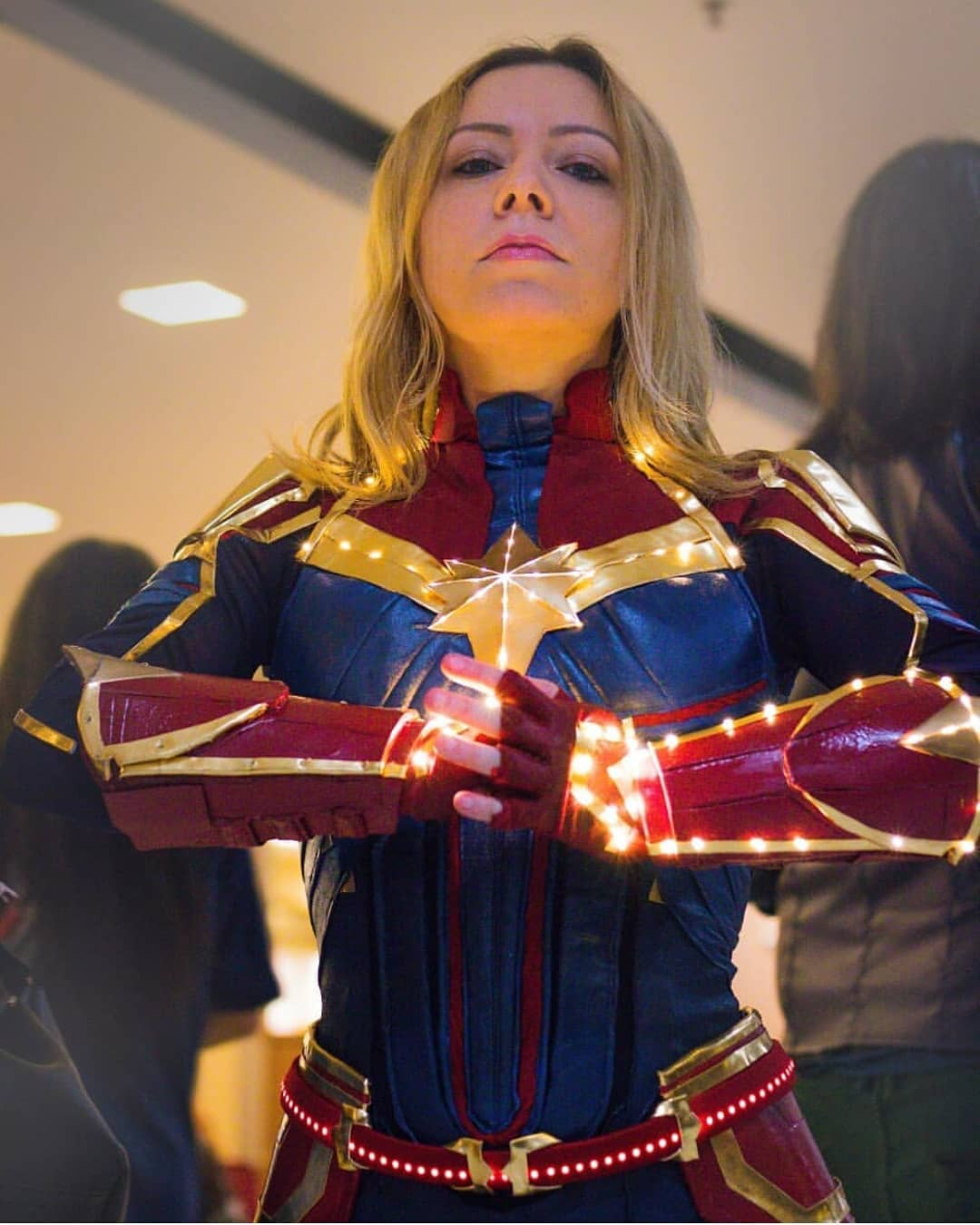 Free Comic Book Day Etiquette: Captain Marvel Cosplay Free Comic Book Day 2019 (4 By