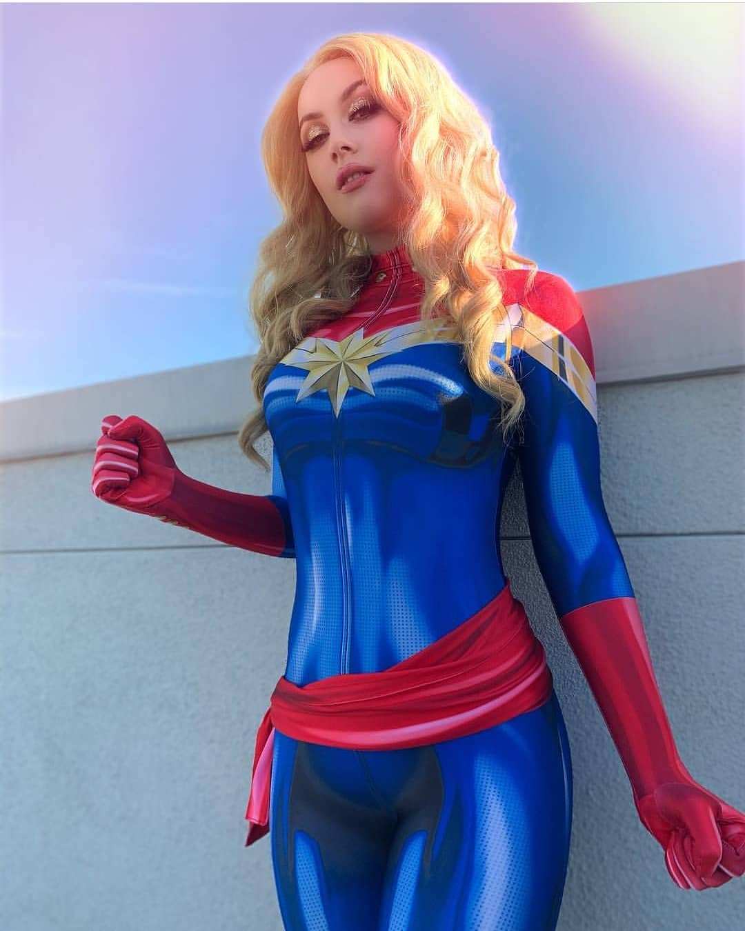 Free Comic Book Day Etiquette: Captain Marvel Cosplay Free Comic Book Day 2019 12 By