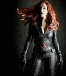 Black Widow Avengers Cosplay 2018 by Brokephi316