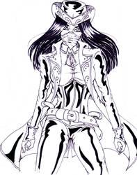 Inktober: Draw! by TheLadyCrimson