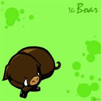 Zodiac- Boar by Nekoyasha-