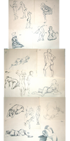 Life Drawings and Gestures