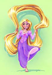 Rapunzel Rapunzel by Kuitsuku