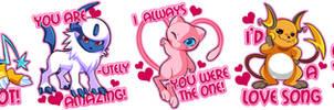 Pokemon Valentines