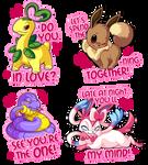 Pokemon Valentines 2014