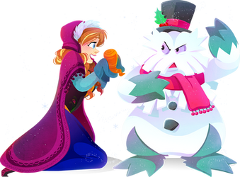 Do You Want to Build an Abomasnow-man? by Kuitsuku