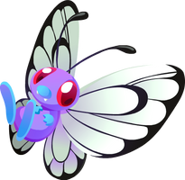 Butterfree #012 by Kuitsuku