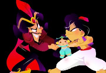 Evil Jafar by Kuitsuku