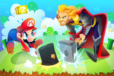 Mario vs. Thor