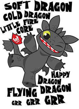 Soft Dragon Toothless